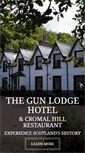 Mobile Preview of gunlodgehotel.co.uk