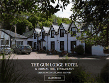 Tablet Preview of gunlodgehotel.co.uk